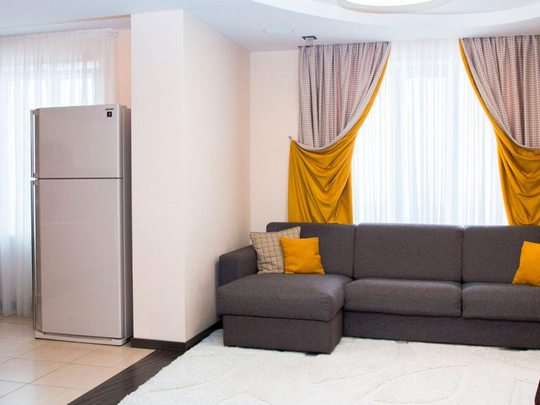 Пример пошива штор на заказ для трехкомнатной квартиры в г Солнечном с фото