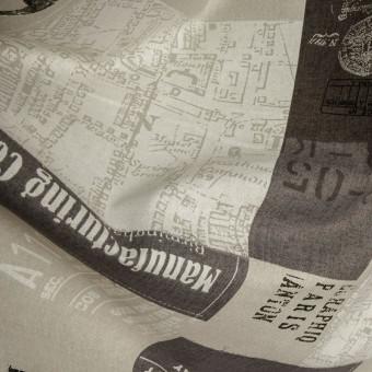 Windeco Travel Maps цвет 17 marron