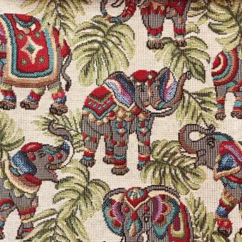 Galleria Arben TAPIZ NEW ELEPHANTS BEIGE