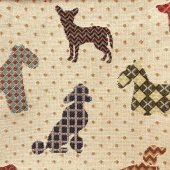 Galleria Arben TAPIZ DOGS BEIGE